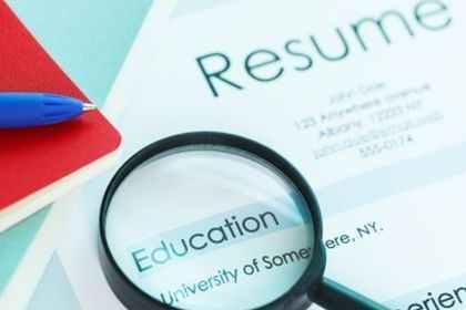 resume written